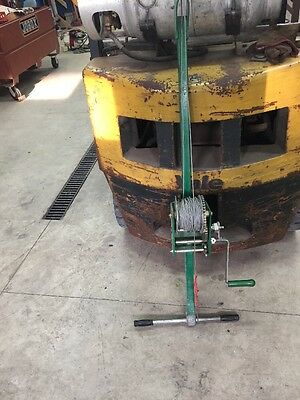 Greenlee 766M5 Manual Cable Puller Tool Good Condition