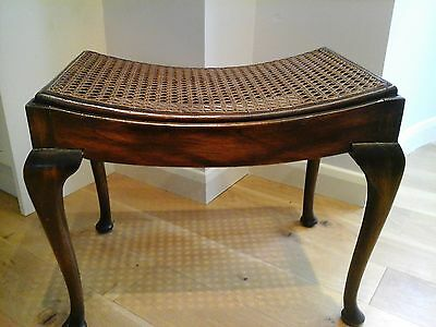 Antique dressing table or piano stool