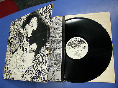 Lp Gat Utter Stench Cry For Help Cleopatra Records 1986 CLP223