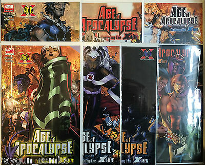 Age of Apocalypse Featuring the X-Men #1-5 Set & One-Shot NM- 1st Print Marvel