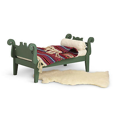 """American Girl JOSEFINA BED AND BEDDING for 18"""" Dolls Furniture Historical NEW"""