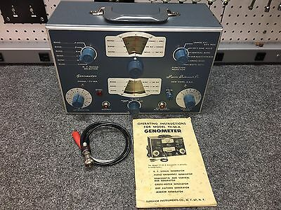 Vintage Superior Instruments Co. Genometer Model TV-50-A -- Restored and Working