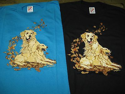 Golden Retriever Tee Shirt - Brand New - Choose your size and color!