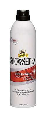 Absorbine Showsheen Horse Pony Show Hair Polish Easy Spray Bottle Finishing Mist