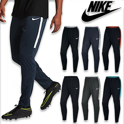 Mens Nike Academy Dri Fi Tracksuit Pants Training Bottoms Football Running Sport