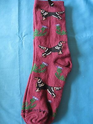 Gordon Setter Socks by Golden Horn Creations - Women's Medium - New