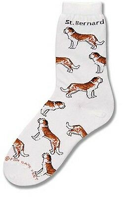 Saint Bernard Socks by For Bare Feet NWT