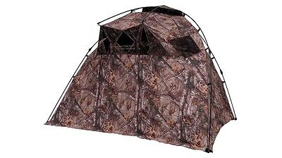 Ameristep Lightspeed Razor 3 Person Ground Hunting Blind Turkey Deer Xtra Camo