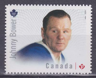 Canada 2015 #2866c Great Canadian Goalies (Johnny Bower) - MNH