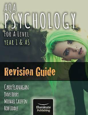 AQA Psychology for A Level Year 1 & AS - Revision Guide 9781908682444 Paperback