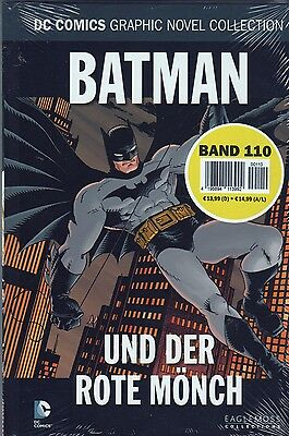DC Comics Graphic Novel Collection OVP! Band 110: BATMAN UND DER ROTE MÖNCH neu!