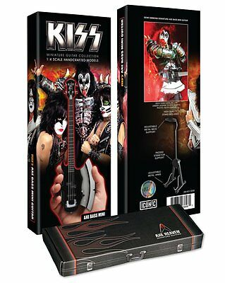 AXE HEAVEN KISS Gene Simmons Signature AXE Bass Mini Guitar Officially Licensed