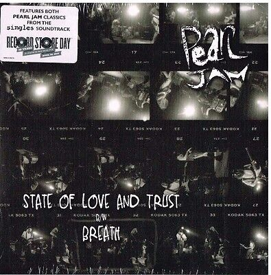 """Pearl Jam - State of Love and Trust b/w Breath - 45 7"""" RDS 2017 Vinyl Limited"""
