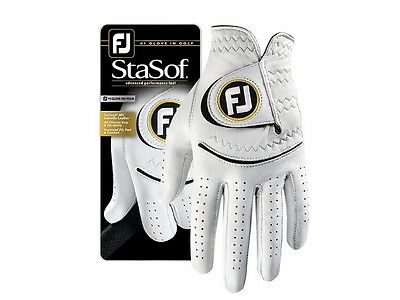 Footjoy StaSof Mens Leather Golf Gloves size 2016