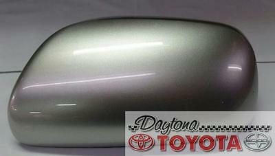 OEM TOYOTA PRIUS OUTER LH DRIVER MIRROR COVER BLUE 87945-68010-J2 FITS 2004-09