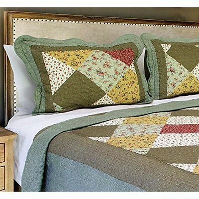 The CONNECTICUT HOME COMPANY Luxury Quilt Collection, Reversible, 2-Piece Twin