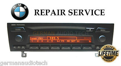 REPAIR SERVICE for BMW PROFESSIONAL CD PLAYER CD73 LCD E90 2006 2007 2008 2009