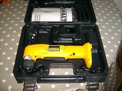 Dewalt 14.4v angle drill box and charger