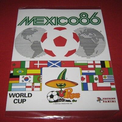 Panini FIFA World Cup MEXICO 86 No Stickers Album Only Images Complete Reprint