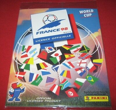 Panini FIFA World Cup FRANCE 98 No Stickers Album Only Images Complete Reprint