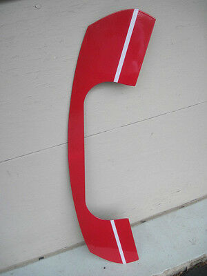 """MINT 70's AT & T TELEPHONE PHONE PORCELAIN SIGN 38"""" PERFECT"""