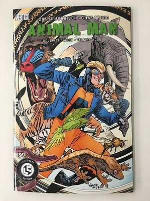Animal Man Graphic Novel TPB Loot Crate DX Variant Exclusive Grant Morrison