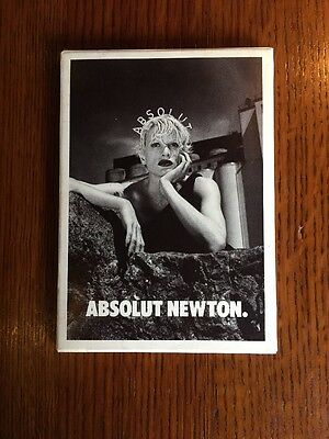 Absolut Vodka Postcards Absolut Newton Blahnik 1095