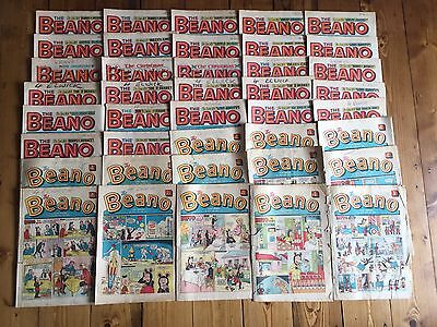 The Beano Vintage Job Lot Comic Book Collection x 40 - 1965 - 1974