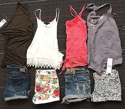 S LOT junior/woman Clothes Jeans Shorts TOP AMERICAN EAGLE FOREVER 21 a&F LEVI