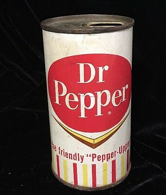 Vintage Dr Pepper 12 OZ Flat Top Soda Can Dr Pepper Co Very Rare