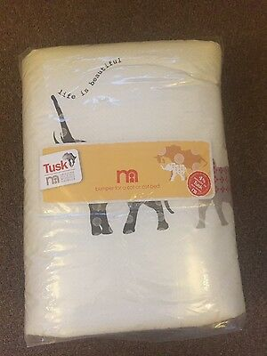 NEW Mothercare TUSK range BUMPER suitable for a cot/cot bed