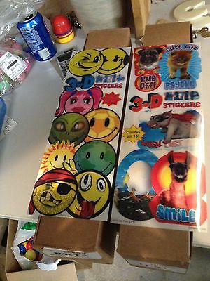 3D Lenticular Stickers From Vending Machine (2 boxes)
