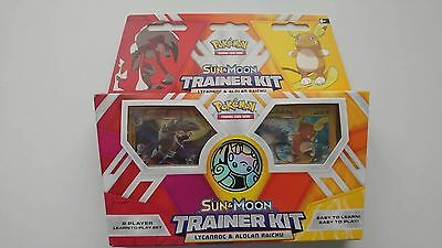 Pokemon Sun & Moon Trainer Kit 60 cards, 2 foils, playmate & more Learn to pLay