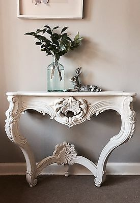 Antique French Console Or Hall Table
