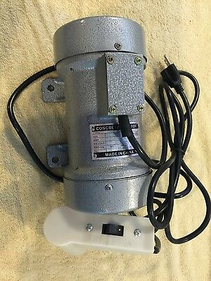 Concrete Vibrator Vibration MOTOR 1/3hpNOTAX Free Shipping-Multi - use - 200SOLD