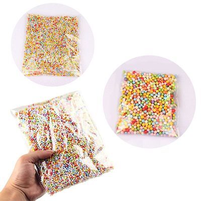 Polystyrene Crafts Foam Beads Colorful Assorted Balls Filler