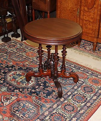 Beautiful American Antique Mahogany Side Table.