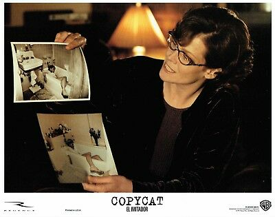 COPYCAT, 7 orig mint 1995 Lobby Cards, Sigourney WEAVER, Holly HUNTER thriller!