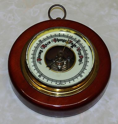 Vintage Wood Framed Barometer - Made in West Germany - Nice Condition