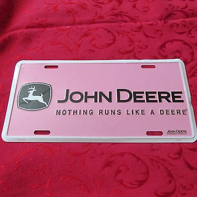 John Deere Pink  Licensed Product
