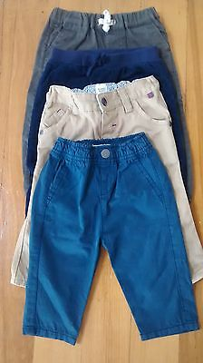 Boys 4x size 0 pants 6-12 months country road baker baby sprout cotton on bulk