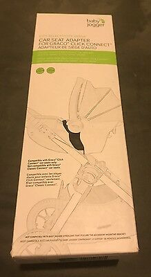 Baby Jogger City Select Graco Click Connect Car Seat Adapter (Model BJ90325)