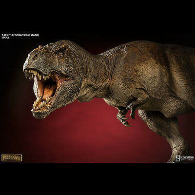 SIDESHOW Dinosauria T-Rex The Tyrant King Statue Jurrassic Period NEW