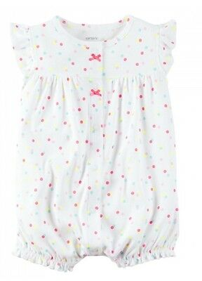 Carters Infant Baby Girls Romper/Creeper 9M Months New w/tags NWT