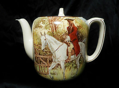 Royal Douton Teapot, Sir Roger De Coverley- Rare and in wonderful condition!