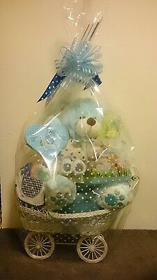 baby boy welcome large hamper