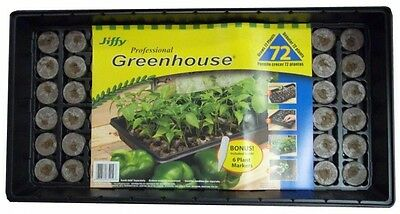Jiffy Professional Greenhouse Plant Labels Starter Kit Herb Vegetable Seed