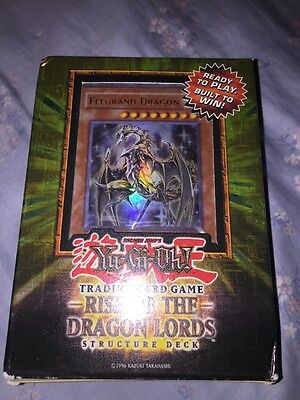 Yugioh Rise Of The Dragon Lords Structure Deck Brand New And Sealed Old Hot