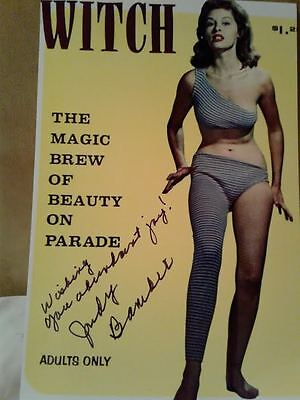 Judy Bamber Authentic Hand Signed 4X6 Photo , RARE AUTOGRAPH PHOTO !