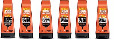 Pack of 6 Original Source Pink Grapefruit Shower Gel 250 ml